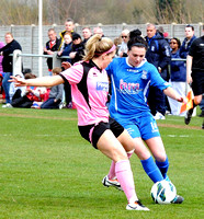 Birmingham City Ladies v Lincoln April 21st 2013