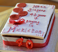 Meon Singers - Mickleton 40  Year Anniversary Concert May 13th 2016