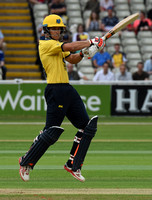 Birmingham Bears v Nottinghamshire Outlaws t20 July 22nd 2016