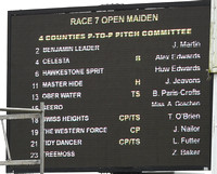 Race 7 The Open Maiden Race